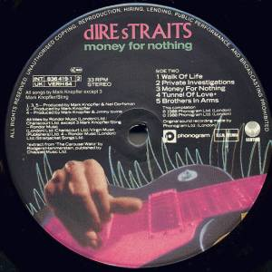 Dire Straits: Money For Nothing (LP) - Bild 4
