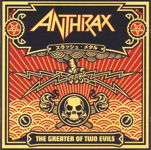 Anthrax: The Greater Of Two Evils (CD) - Bild 1