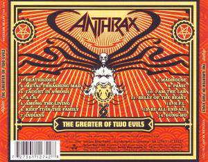 Anthrax: The Greater Of Two Evils (CD) - Bild 2