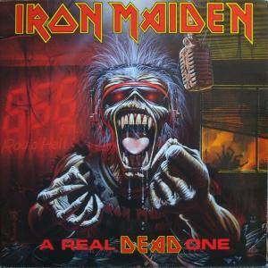Iron Maiden: Real Dead One, A - Cover