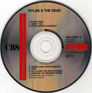 Bob Dylan & Grateful Dead: Dylan & The Dead (CD) - Bild 3