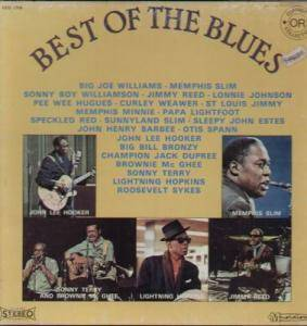 Best Of The Blues - Cover