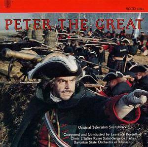 Cover - Laurence Rosenthal: Peter The Great