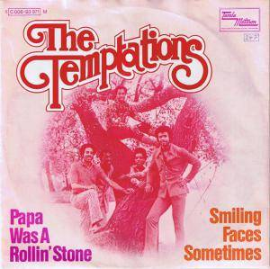 The Temptations: Papa Was A Rollin' Stone - Cover