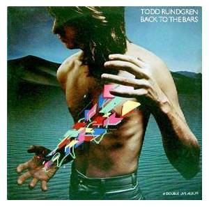 Todd Rundgren: Back To The Bars - Cover