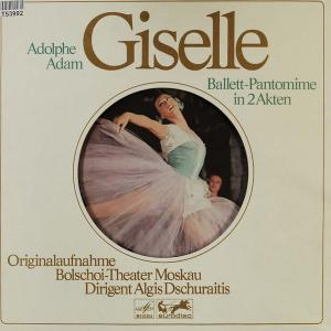 Adolphe Adam: Giselle - Cover