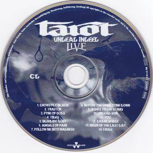 Tarot: Undead Indeed Live (CD + DVD) - Bild 3