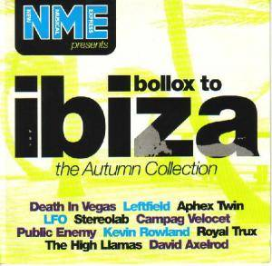 Cover - Campag Velocet: NME Presents Bollox To Ibiza: The Autumn Collection