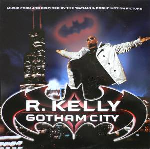 R. Kelly: Gotham City - Cover