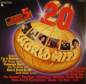 20 World Hits - Oldies Revival Vol. 5 - Cover