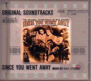Cover - Max Steiner: Since You Went Away