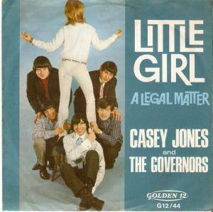 Cover - Casey Jones & The Governors: Little Girl