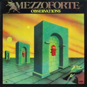 Mezzoforte: Observations - Cover