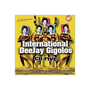 International Deejay Gigolos CD Five - Cover