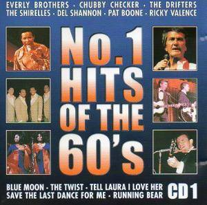 No. 1 Hits Of The 60's CD 1 - Cover