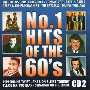 No. 1 Hits Of The 60's CD 2 - Cover