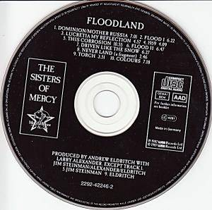 The Sisters Of Mercy: Floodland (CD) - Bild 3