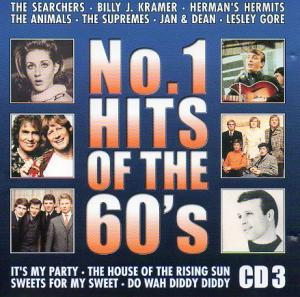 No. 1 Hits Of The 60's CD 3 - Cover