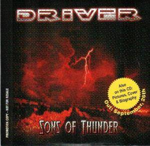 Driver: Sons Of Thunder - Cover