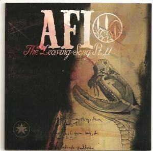 AFI: Leaving Song Pt. II, The - Cover