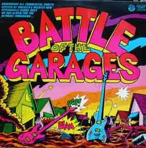 Battle Of The Garages - Cover
