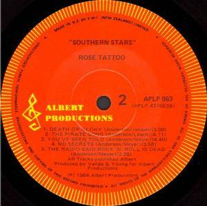 Rose Tattoo: Southern Stars (LP) - Bild 4