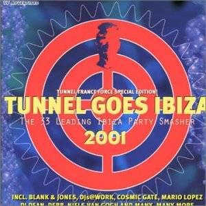 Tunnel Goes Ibiza 2001 - Cover