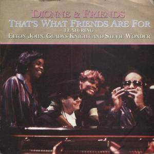 Dionne Warwick: That's What Friends Are For - Cover