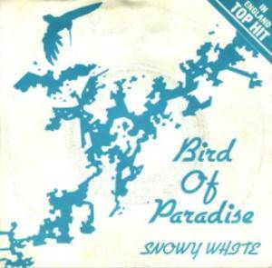 Snowy White: Bird Of Paradise - Cover