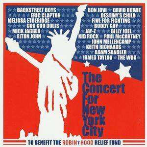 Concert For New York City, The - Cover