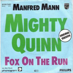 Manfred Mann: Mighty Quinn - Cover