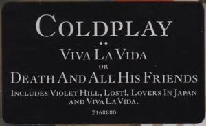 Coldplay: Viva La Vida Or Death And All His Friends (CD) - Bild 7