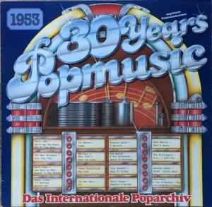 30 Years Popmusic 1953 - Cover