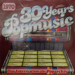 30 Years Popmusic 1970 - Cover