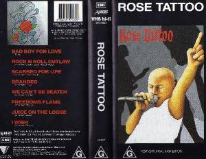 Rose Tattoo: Rose Tattoo - Cover