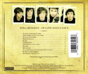 Still Remains: Of Love And Lunacy (CD) - Bild 2