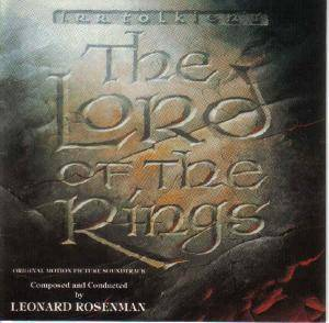 Leonard Rosenman: Lord Of The Rings - Original Motion Picture Soundtrack, The - Cover
