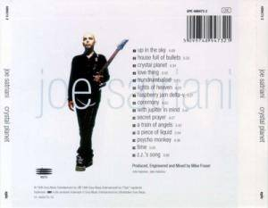 Joe Satriani: Crystal Planet (CD) - Bild 2
