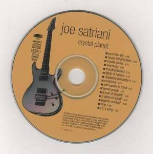 Joe Satriani: Crystal Planet (CD) - Bild 3