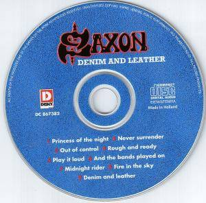 Saxon: Denim And Leather (CD) - Bild 3