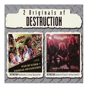 Destruction: Mad Butcher / Eternal Devastation & Sentence Of Death / Infernal Overkill (2-CD) - Bild 1