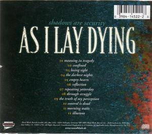 As I Lay Dying: Shadows Are Security (CD) - Bild 2