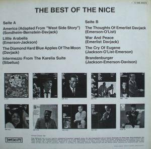 The Nice: The Best Of The Nice (LP) - Bild 2