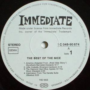 The Nice: The Best Of The Nice (LP) - Bild 3