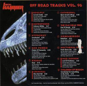 Metal Hammer - Off Road Tracks Vol. 96 (CD) - Bild 2