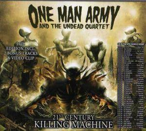 Cover - One Man Army And The Undead Quartet: 21st Century Killing Machine