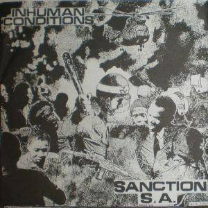 Inhuman Conditions: Sanction S.A. - Cover