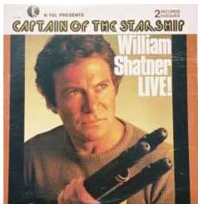 William Shatner: Captain Of The Starship - Live! - Cover