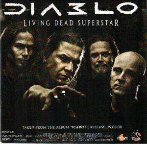 Cover - Diablo: Living Dead Superstar / Without Walls