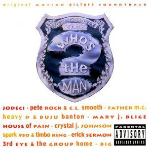 Music From The Original Motion Picture Soundtrack Who's The Man? - Cover